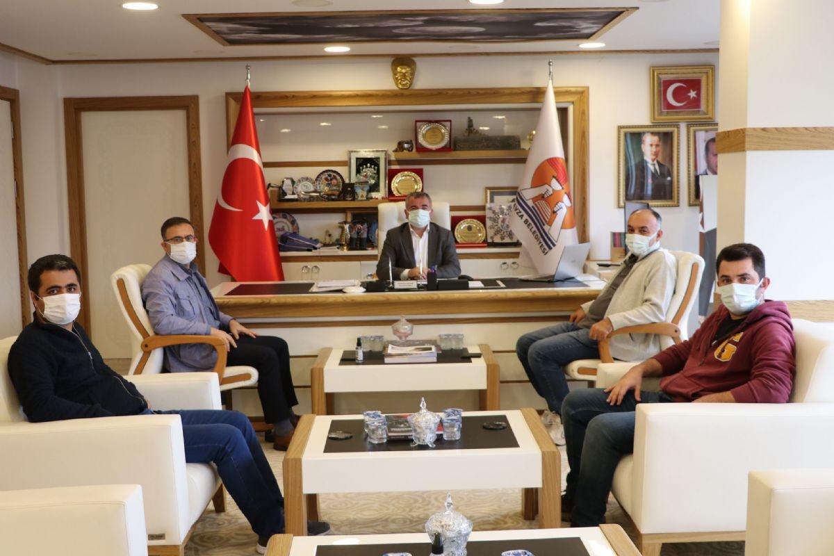 Havza Meslek Yüksek Okulundan Başkan Özdemir'e Ziyaret