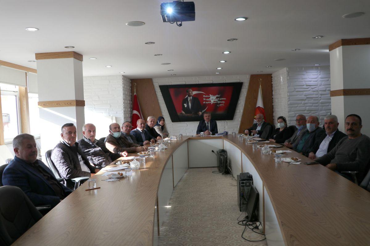 Havza Belediyesi Ekim Ayı Meclis Toplantısı Gerçekleştirildi