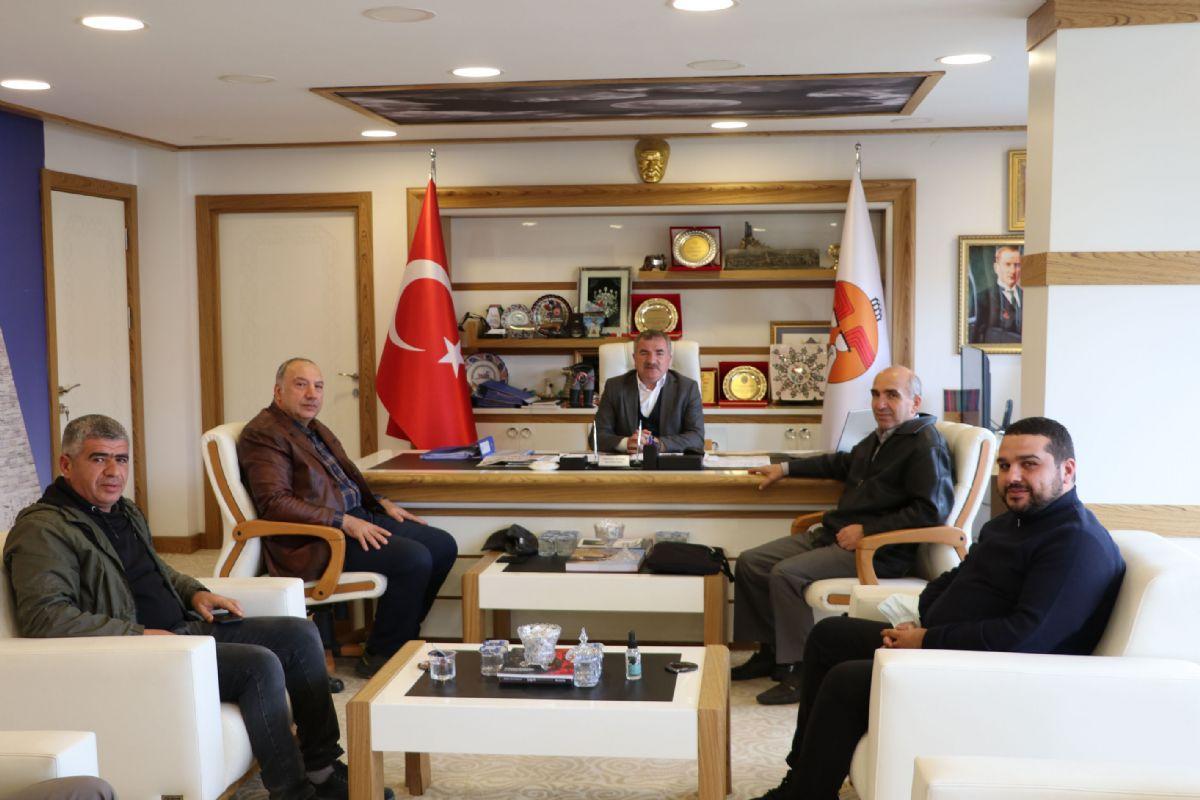 Havza OSB'de Yatırım Kararı Alan İş İnsanlarından Başkan Özdemir'e Ziyaret