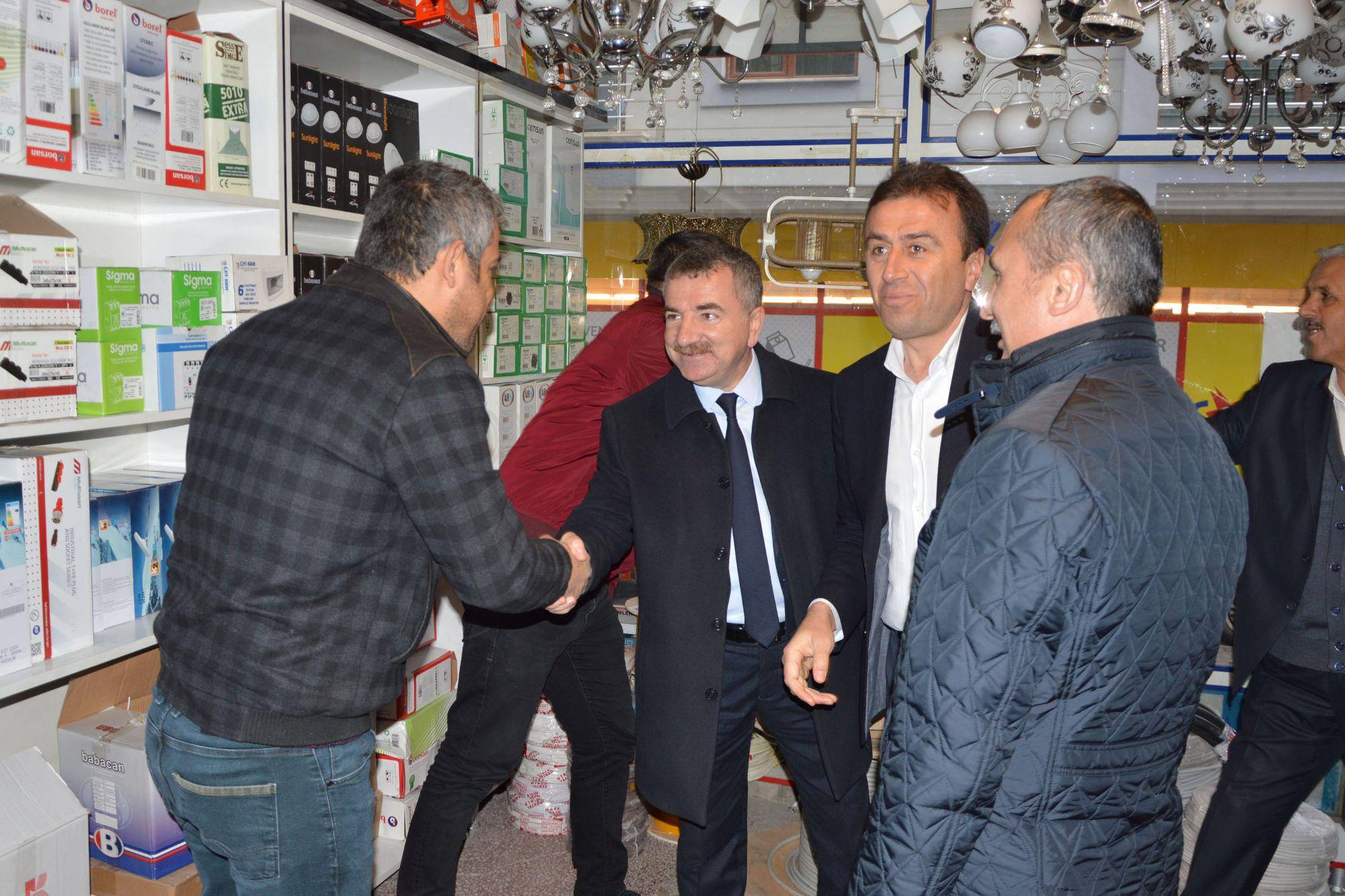 Ak Parti Samsun Milletvekili Orhan Kırcalı Havza'da Bir Dizi Ziyaret Gerçekleştirdi.