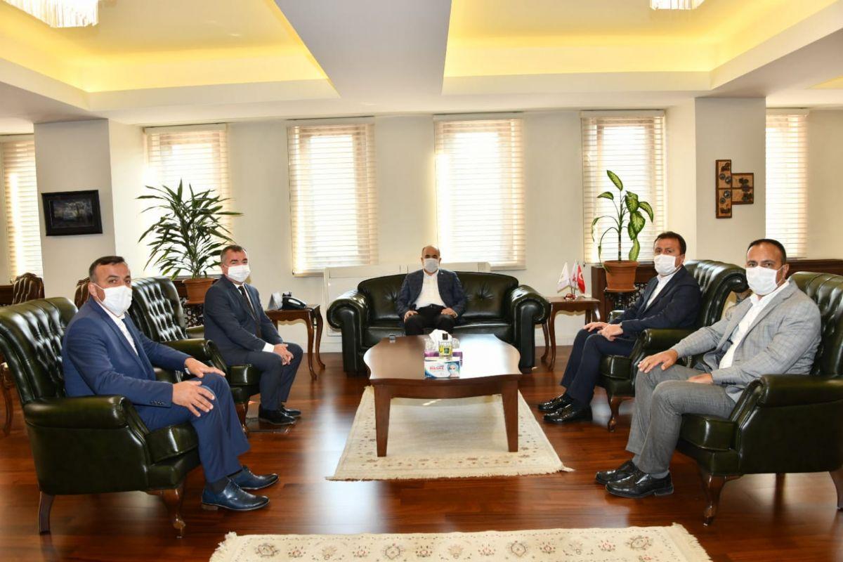 Havza Belediye Başkanı Özdemir'den Vali Dağlı'ya Ziyaret