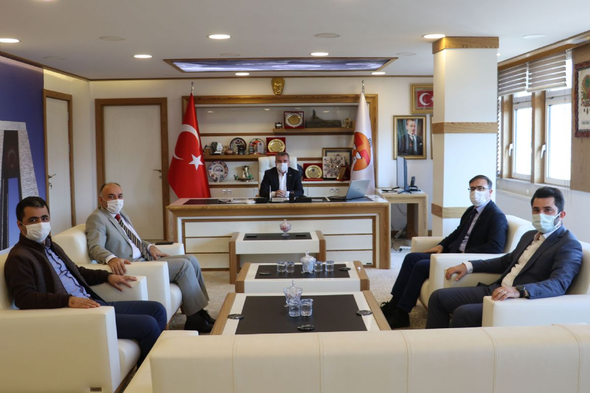 Havza Myo'dan Başkan Özdemir'e Ziyaret