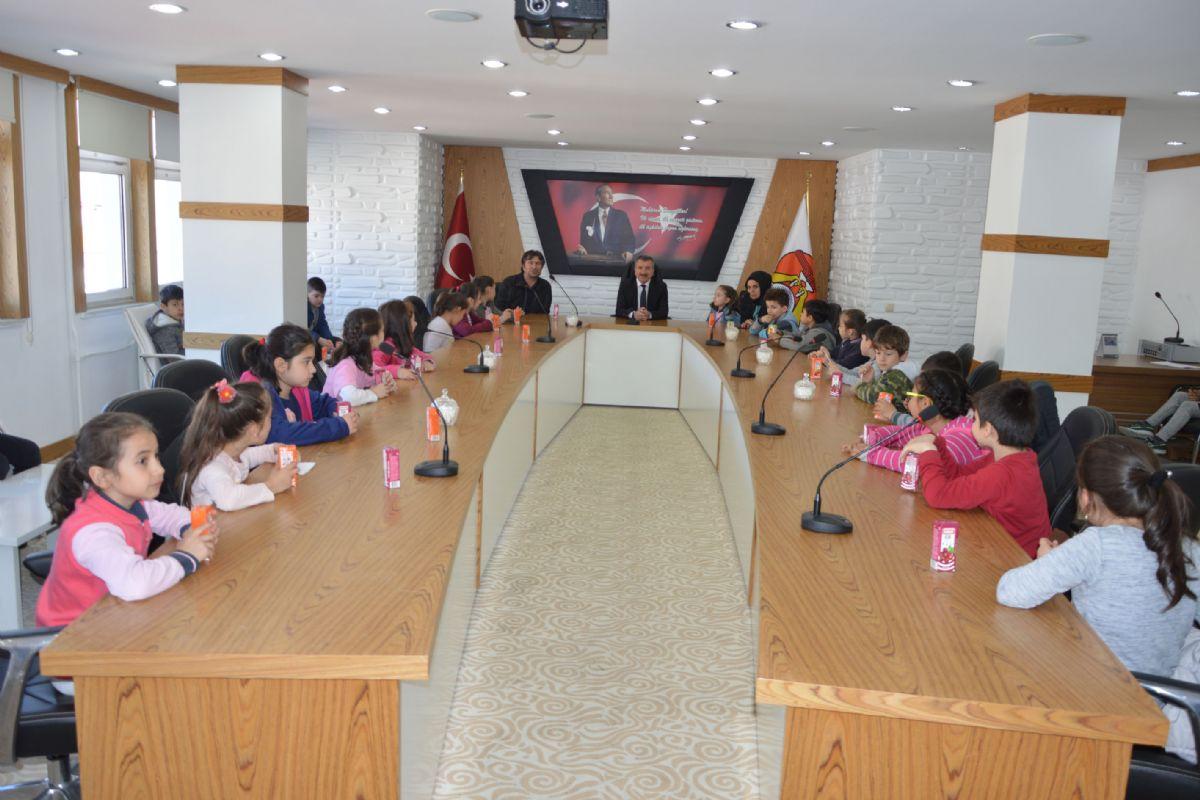 Havza Merkez İlkokulu Öğrencileri Hayat Bilgisi Dersi Yerel Yönetim Birimlerini Tanıyorum Konusu Kapsamında Havza Belediyesini Ziyaret Ettiler.