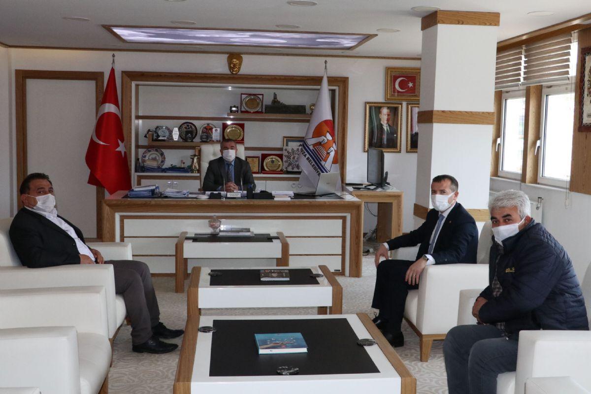 Mhp'den Havza Belediye Başkanı Özdemir'e Ziyaret