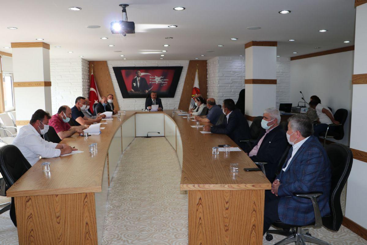 Havza Belediye Haziran Meclisi Toplantısı Gerçekleştirildi
