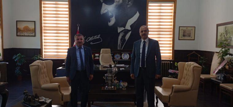 Başkan Özdemir'den Hayırlı Olsun Ziyareti