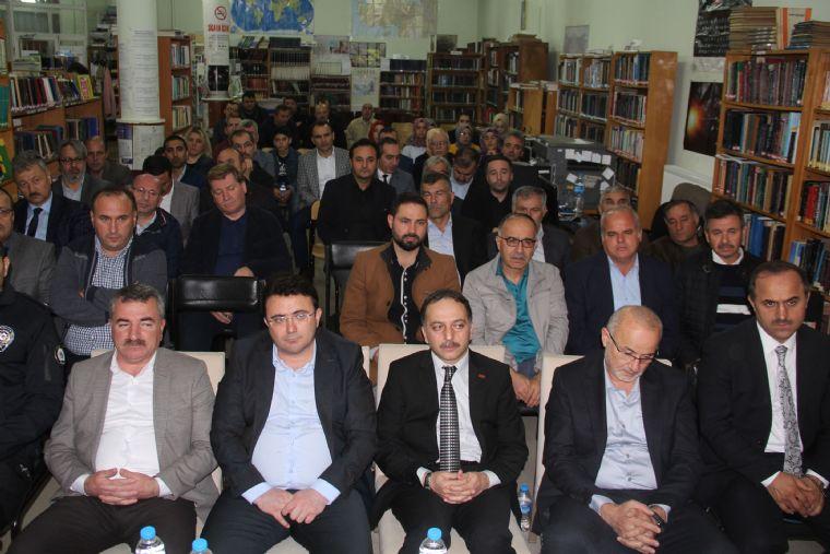Havza'da Kütüphane Konuşmaları Etkinliği