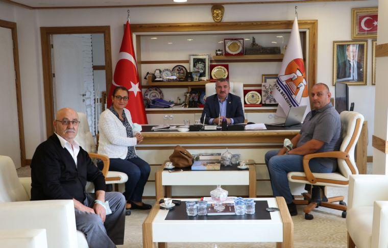 Sakodef'dan Havza Belediye Başkanı Özdemir'e Ziyaret