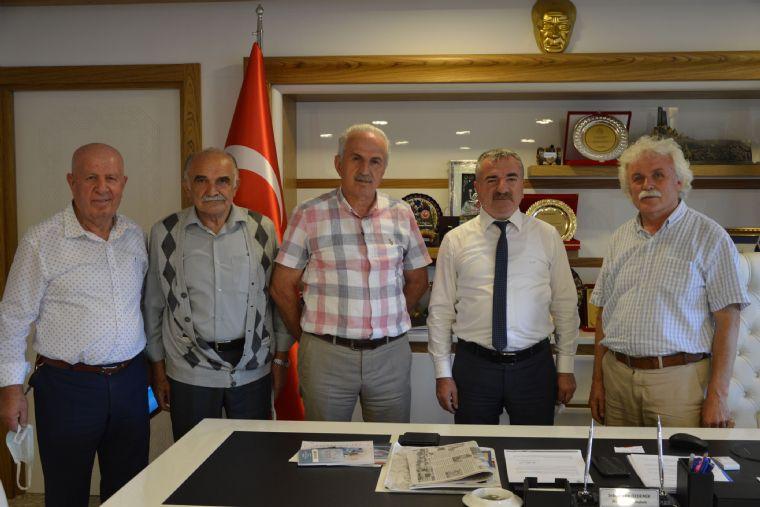 Lader'den Havza Belediye Başkanı Özdemir'e Ziyaret
