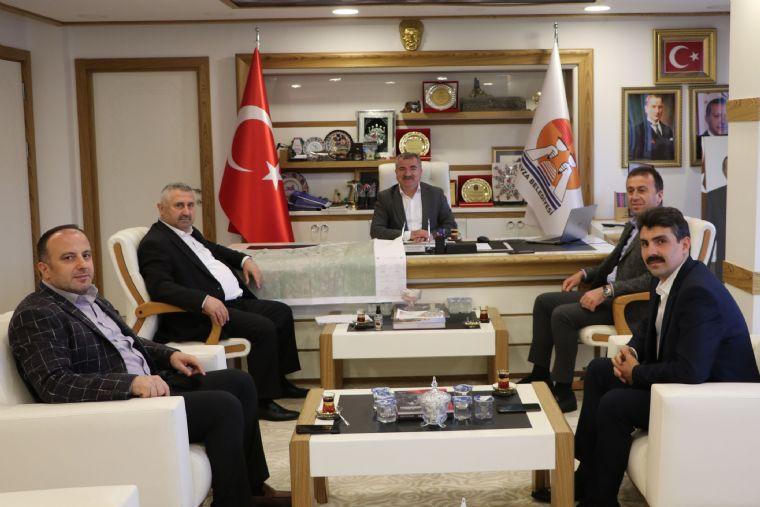 Saski Genel Müdürü Yanık'dan Başkan Özdemir'e Ziyaret