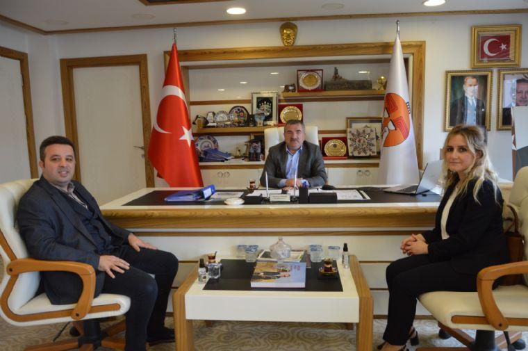 Hilas Termal'den Başkan Özdemir'e Ziyaret