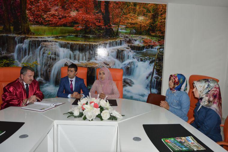 Havza Belediye Başkanı Sebahattin Özdemir Görevi Devraldıktan Sonra İlk Nikâhını Kıydı.