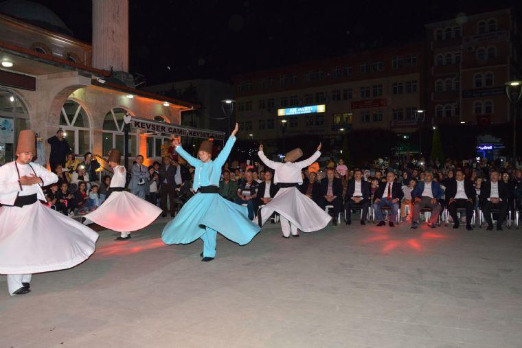 Havza Belediyesi Tarafından Düzenlenen Ramazan Etkinlikleri Kapsamında İlahi Konseri ve Semazen Gösterisi Düzenlendi.