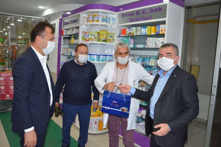 Başkan Özdemir'den Bayram Ziyaretleri