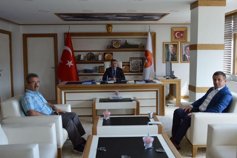 Hizmet-iş Sendikasından Başkan Özdemir'e Ziyaret