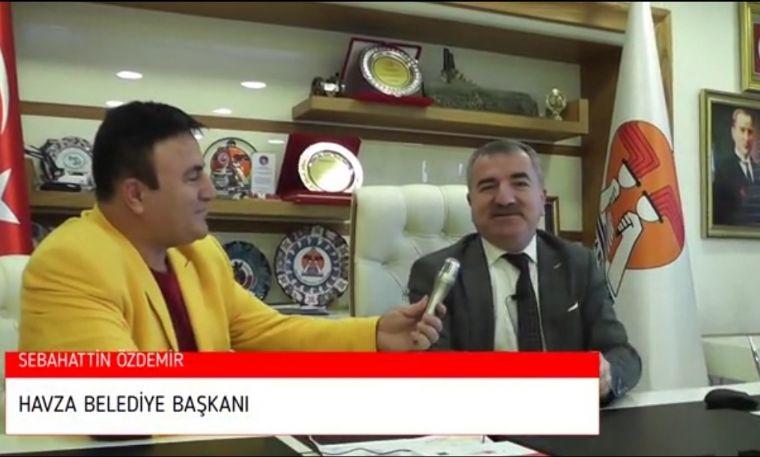 Belediye Başkanı Sebahattin Özdemir'e Vatan Tv'de