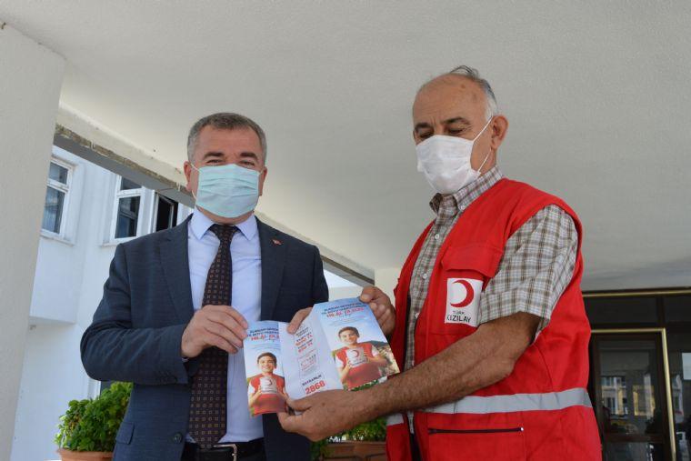 Kızılay 'da Başkan Özdemir'e Ziyaret