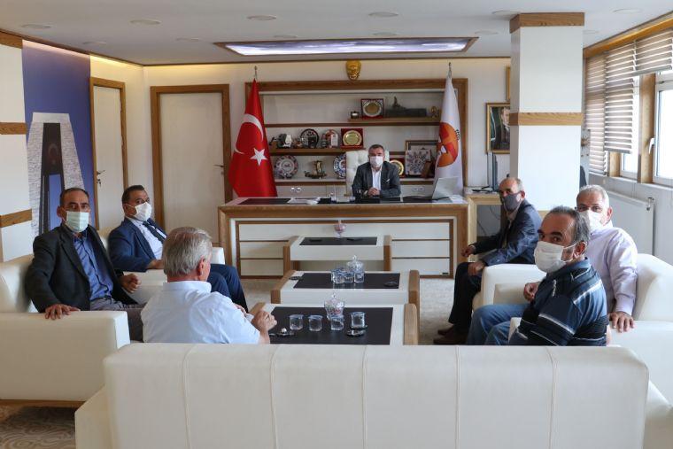 Mhp İlçe Başkanı ve Yönetiminden Havza Belediye Başkanı Özdemir'e Ziyaret