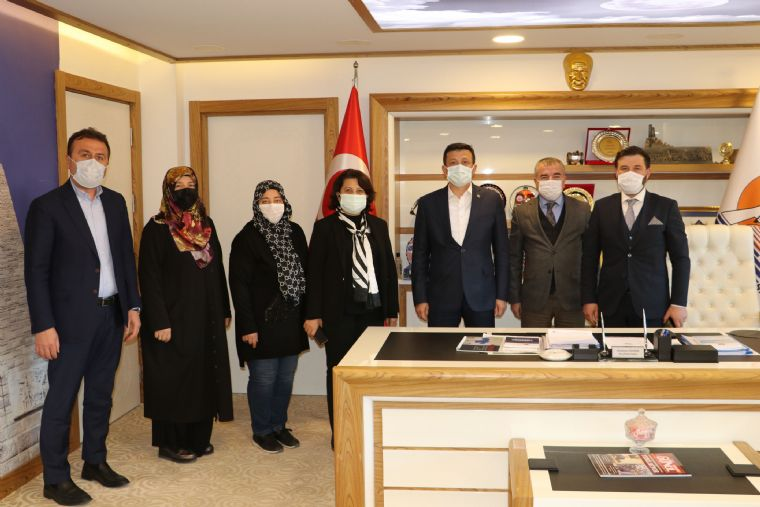 Ak Parti Genel Başkan Yardımcısı Dağ'dan Havza Ziyareti