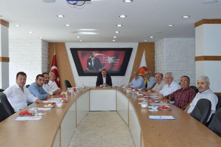 Havza Belediye Meclisi Temmuz Ayı Olağan Toplantısını Gerçekleştirdi.