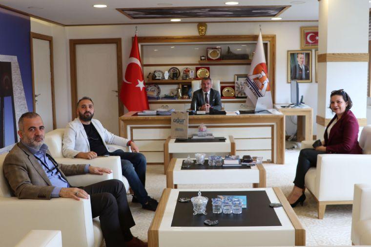 Eğitimcilerden Başkan Özdemir'e Ziyaret