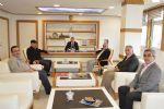 Havza Belediye Başkanı Sebahattin Özdemir'i Ziyaret Eden Sivil Toplum Örgütlerinin Temsilcileri Hayırlı Olsun Dileklerini İletti.