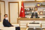 Belediye Başkanı Sebahattin Özdemir'e Ziyaret