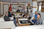 Chp Samsun Milletvekili Kemal Zeybek Havza Belediye Başkanı Sebahattin Özdemir'i Ziyaret Etti.