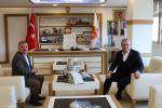 Milletvekili Ünal'dan  Havza Belediye Başkanı Özdemir'e Ziyaret