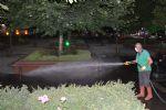 Havza'da Parklar Dezenfekte Ediliyor
