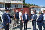 Samsun Valisi Dağlı Havza'yı Ziyaret Etti