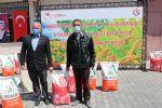 Havza'da Yüzde 75 Destekli Yağlık Ayçiçeği Tohumu Dağıtıldı