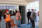 Başkan Özdemir'den Sürpriz 1 Mayıs Kutlaması